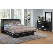 bedroom leather platform bed full size what colors go with