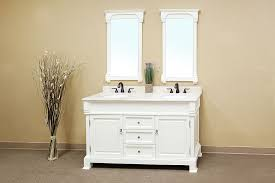 60 Inch White Vanity Bellaterra Home 205060 D A White Bathroom Vanity Antique Double
