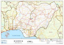 Map Of Nigerian States by Nigeria Acaps