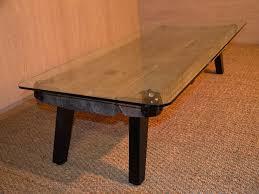 Table Basse Verre Roulette Industrielle by Table Basse Verre Factorydeco Petites Tables Basses Achetez Des
