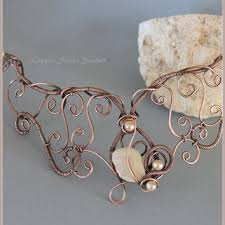 wire jewelry necklace images Copper wire necklace copper necklace from copper street studios jpg