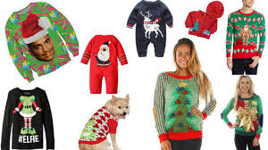 tacky sweaters for the whole family collective whim