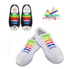 shoelace length guide amazon com 1 pairs multicolor no tie shoelaces for adults