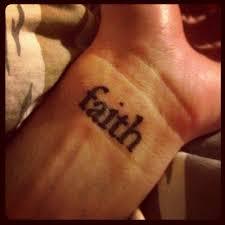 25 beautiful faith wrist tattoos ideas on pinterest faith tatto