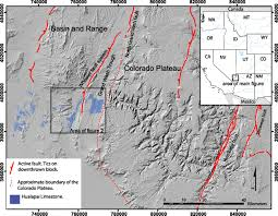 Lake Mead Map Constraints On The Evolution Of Vertical Deformation And Colorado