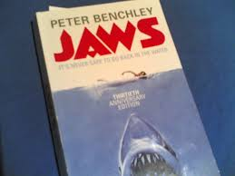 Peter Benchely - jaws by peter benchley pan editions fonts in use