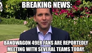San Francisco Meme - 18 of the funniest san francisco 49ers memes dfs strategy