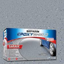 rust oleum rocksolid 76 oz gray polycuramine 1 car garage floor