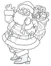 coloring pages to print of santa santa printable coloring pages printable coloring pages best