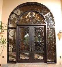 Exterior Doors Houston Tx It S All In The Details Wrought Iron Line Durango Doors Suite