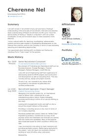 Service Advisor Resume Sample by Recruitment Consultant Resume Samples Visualcv Resume Samples