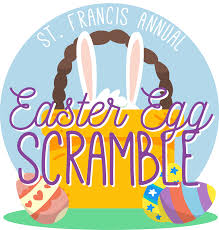 easter egg scramble st francis of assisi