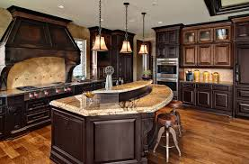 mixed wood cabinets houzz