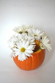 Fall Floral Decorations - pumpkin floral centerpiece whats ur home story