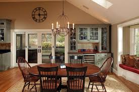 craftsman dining room with high ceiling by archia homes zillow