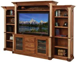 Jefferson Solid Wood Entertainment Center From Dutchcrafters Amish