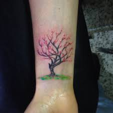 tree wrist designs ideas and meaning tattoos for you