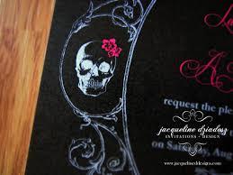 download skull wedding invitations wedding corners