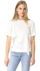 dvf blouse diane furstenberg ruffle front blouse shopbop