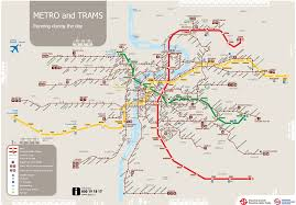 Green Line Metro Map by Prague Maps Transport Damyan Tours And Excursions In Prague