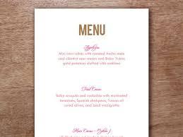 49 best printable wedding menu templates images on pinterest