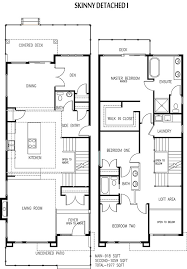 duplex floor plans for narrow lots edmonton home suites builder on narrow lots