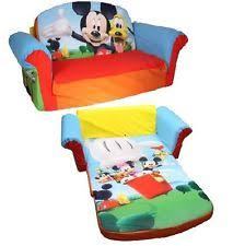 mickey mouse clubhouse flip open sofa with slumber mickey mouse flip sofa radkahair org home design ideas