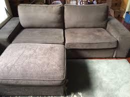Kivik Ottoman Ikea Gray Kivik Sofa And Ottoman In Crescenta Highlands