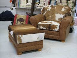 Living Room Desk Chair Armchair Modern Cowhide Furniture Rustic Leather Living Room