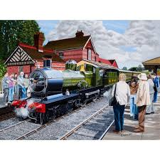 The Owl Barn Gift Collection All Aboard 500 Piece Jigsaw Puzzles And Jigsaws At The Owl Barn