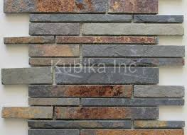 Rusty Brown Slate Mosaic Backsplash by Rusty Brown Slate Mosaic Backsplash Tile For Traditional Kitchen