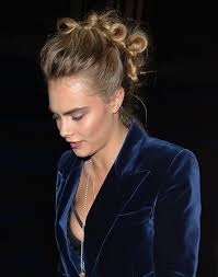 New Fall Hairstyles 2014 by Cara Delevingne Continues The Knotted Mohawk Hairstyle Trend Glamour