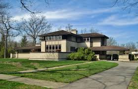 frank lloyd wright architectural style with awesome exterior home