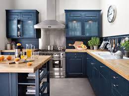 meuble cuisine bleu cuisine cagne découvrez toutes nos inspirations