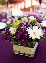 wedding flower ideas purple wedding flowers centerpieces
