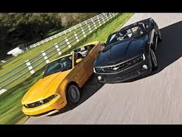 2012 mustang vs camaro camaro ss convertible vs mustang gt convertible