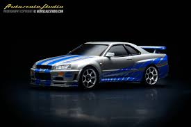 nissan r34 fast and furious mzg34ws 2fast2furious wildspeed2 nissan skyline gt r r34