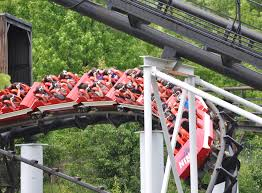 Six Flags St The New Revolution Virtual Reality Coaster Opens At Six Flags St