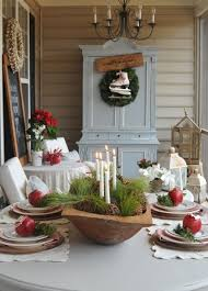kitchen decorating dining room centerpieces table
