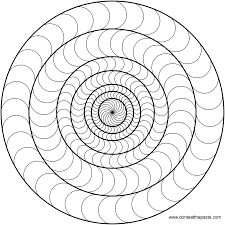 marvelous simple mandala coloring pages with easy mandala coloring