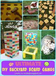 ultimate diy backyard board games mending the piggy bank