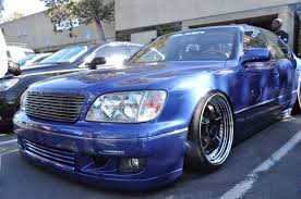 slammed lexus ls400 k break kyoei usa