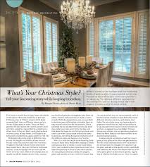 Posh Interiors by Published Holiday Edition Austin Woman Magazine