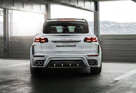 2017 porsche cayenne turbo s 2017 techart magnum sport based on cayenne turbo s unveiled ahead