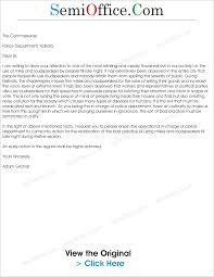 Appointment Letter Format For Hostel Warden Complaint Letters Archives Semioffice Com
