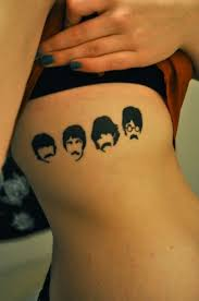it be the best beatles tattoos this side of road