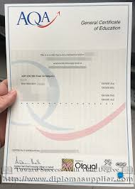buy a fake aqa gce certificate from uk