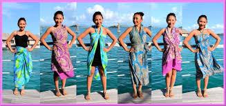 Clothes To Wear On A Safari 9 Ways To Wrap Wear A Sarong Pareo Convertible Dress Iris
