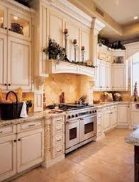 Light Kitchen Cabinets I Love This French Country Kitchen And These Cabinets Are
