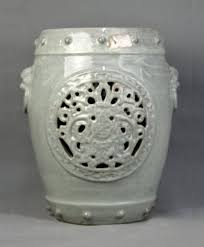 a carved porcelain stool u2013 tychebid